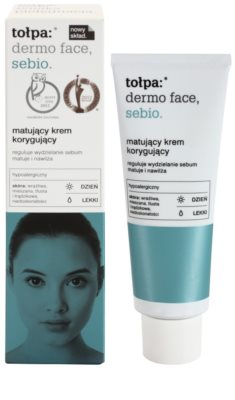 Tołpa Dermo Face Sebio crema de día matificante para pieles grasas 1