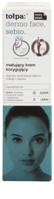 Tołpa Dermo Face Sebio creme de dia matificante para pele oleosa 2