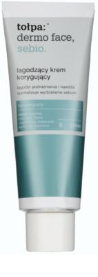 Tołpa Dermo Face Sebio crema calmanta pentru piele sensibila predispusa la acnee