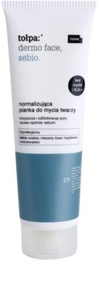 Tołpa Dermo Face Sebio tisztító hab a faggyútermelés szabályozására