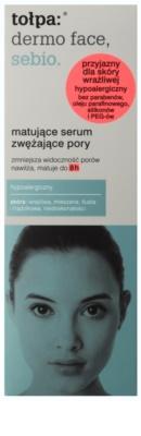 Tołpa Dermo Face Sebio sérum matificante para suavizar los poros 2