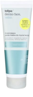 Tołpa Dermo Face Sebio masca pentru exfoliere pentru netezirea pielii si inchiderea porilor
