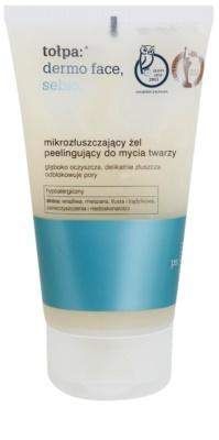 Tołpa Dermo Face Sebio čisticí gel s peelingovým efektem