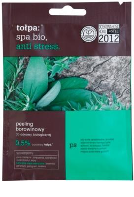 Tołpa Spa Bio Anti Stress exfoliante corporal con turba