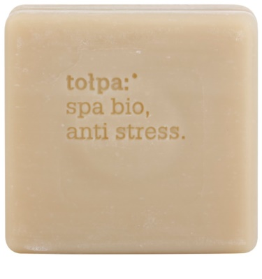 Tołpa Spa Bio Anti Stress Detox-Seife mit Torf