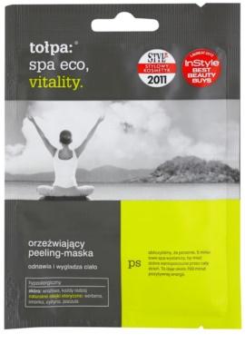 Tołpa Spa Eco Vitality mascarilla corporal refrescante con efecto exfoliante