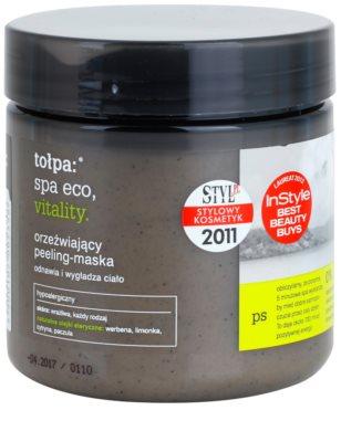 Tołpa Spa Eco Vitality osviežujúca telová maska s peelingovým efektom