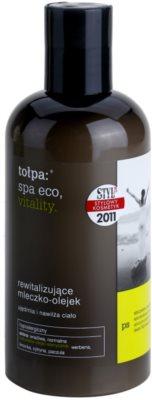 Tołpa Spa Eco Vitality loção corporal revitalizante com óleos essenciais