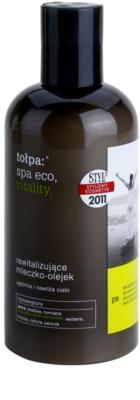 Tołpa Spa Eco Vitality revitalizáló testápoló tej esszenciális olajokkal