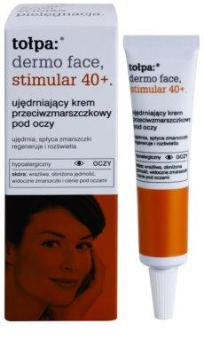 Tołpa Dermo Face Stimular 40+ Festigende Augencreme gegen Falten und dunkle Augenringe 1