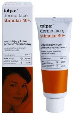 Tołpa Dermo Face Stimular 40+ легкий зміцнюючий крем SPF 15 1