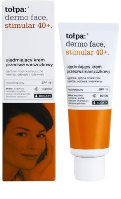 Tołpa Dermo Face Stimular 40+ creme antirrugas refirmante SPF 15 1