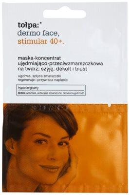 Tołpa Dermo Face Stimular 40+ festigende Maske für schlaffe Haut
