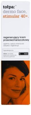 Tołpa Dermo Face Stimular 40+ regenerierende Nachtcreme gegen Falten 2