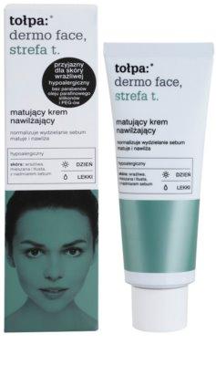 Tołpa Dermo Face T-Zone матиращ крем с хидратиращ ефект 1