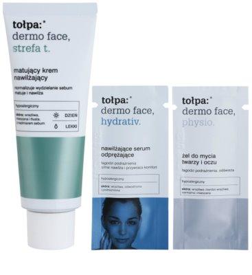 Tołpa Dermo Face T-Zone матиращ крем с хидратиращ ефект 3