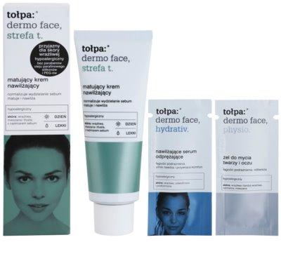 Tołpa Dermo Face T-Zone матиращ крем с хидратиращ ефект 4