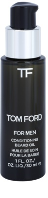 Tom Ford Men Skincare aceite para barba con aroma de vainilla y tabaco