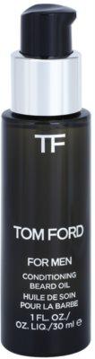 Tom Ford Men Skincare ulei pentru barba cu aroma de vanilie si tutun