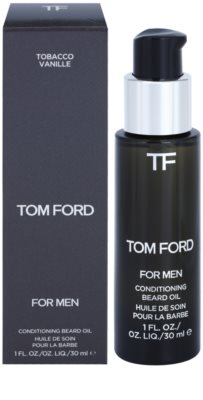 Tom Ford Men Skincare olje za brado z vonjem vanilije in tobaka 1