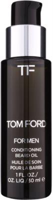 Tom Ford Men Skincare óleo para barba com aroma de flor de laranjeira