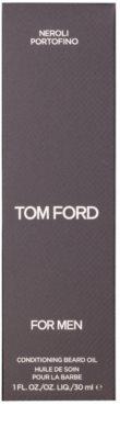 Tom Ford Men Skincare óleo para barba com aroma de flor de laranjeira 2