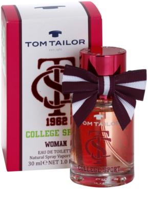 Tom Tailor College sport eau de toilette nőknek 1