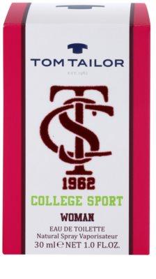 Tom Tailor College sport eau de toilette nőknek 4