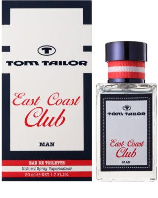 Tom Tailor East Coast Club eau de toilette férfiaknak