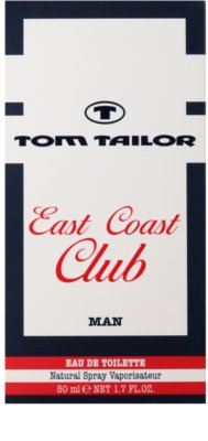 Tom Tailor East Coast Club Eau de Toilette für Herren 4