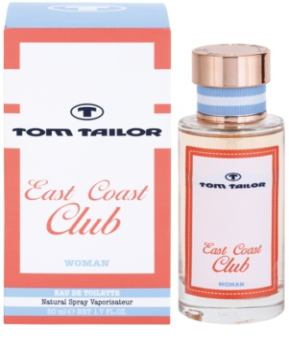 Tom Tailor East Coast Club eau de toilette nőknek