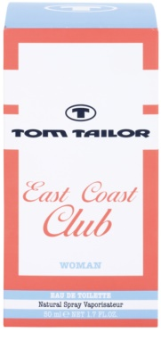 Tom Tailor East Coast Club Eau de Toilette für Damen 1
