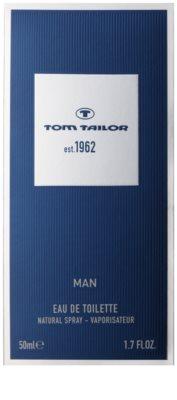 Tom Tailor Est. 1962 Man Eau de Toilette para homens 4