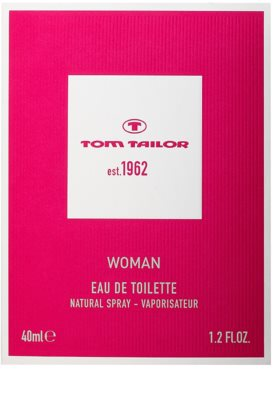 Tom Tailor Est. 1962 Woman Eau de Toilette für Damen 4