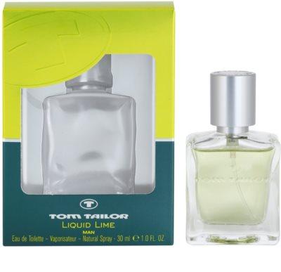 Tom Tailor Liquid Lime Man eau de toilette para hombre