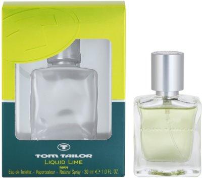 Tom Tailor Liquid Lime Man Eau de Toilette para homens
