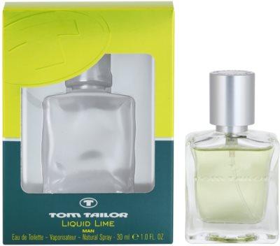 Tom Tailor Liquid Lime Man Eau de Toilette pentru barbati