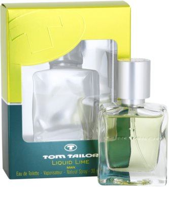 Tom Tailor Liquid Lime Man Eau de Toilette für Herren 1