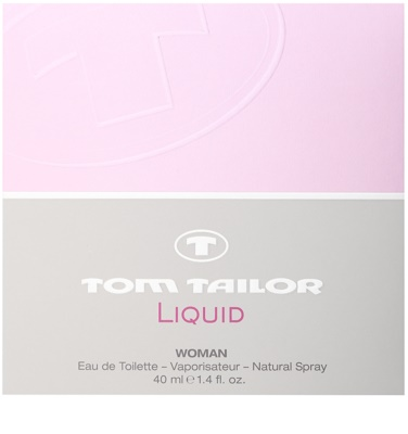 Tom Tailor Liquid Woman Eau de Toilette für Damen 4