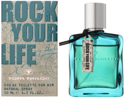 Tom Tailor Rock Your Life For Him Eau de Toilette für Herren