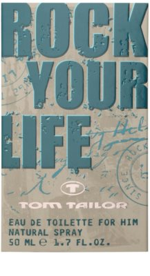Tom Tailor Rock Your Life For Him Eau de Toilette für Herren 4