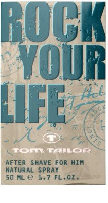 Tom Tailor Rock Your Life For Him After Shave für Herren 4