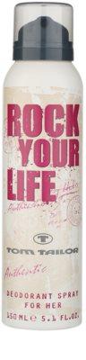 Tom Tailor Rock Your Life For Her Deo-Spray für Damen