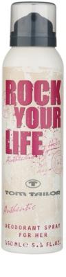 Tom Tailor Rock Your Life For Her desodorante en spray para mujer