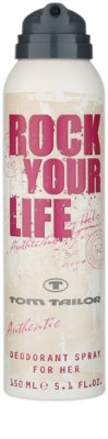 Tom Tailor Rock Your Life For Her deodorant Spray para mulheres 1