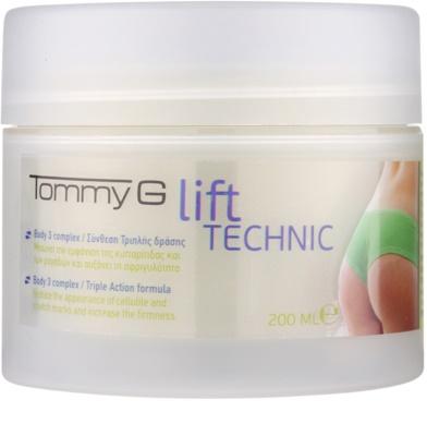 Tommy G Body crema anticelulítica para glúteos y caderas