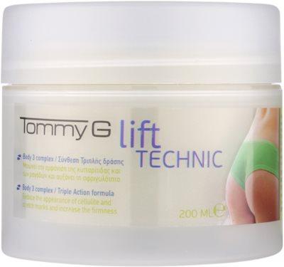 Tommy G Body krema proti celulitu za zadnjico in boke