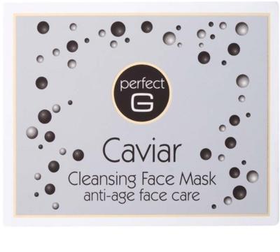 Tommy G Caviar Máscara facial de limpeza com efeito antirrugas 3