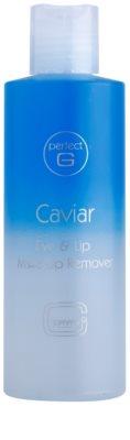Tommy G Caviar лосион за почистване на грим с две съставки за зоната около очите и устните