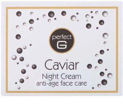 Tommy G Caviar нощен крем против бръчки с хайвер 3